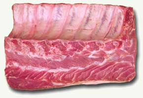 Raw Pork Rack